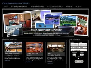 Whistler Chalet Accommodations