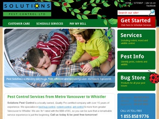 Solutions Pest Control Ltd. :: Whistler Services :: Property & Commercial
