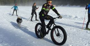 Whistler Fat Tire Bike on Cross Country Trails