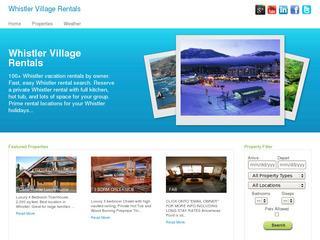 Whistler Village Rentals
