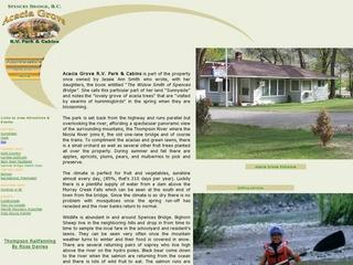 Acacia Grove R V Park & Cabins :: Whistler Camping :: Campgrounds
