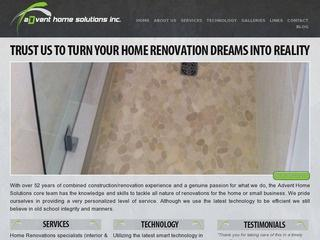 Advent Home Solutions Inc. :: Whistler Services :: Construction & Trades
