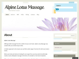 Alpine Lotus Massage :: Whistler Healthcare :: Massage & Medicine