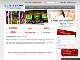 AVW-TELAV Audio Visual Solutions :: Whistler Services :: Business & Professional
