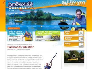 Backroads Whistler :: Whistler Village :: Canoe Tours & Rentals