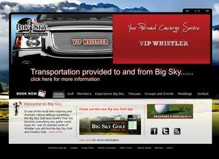 Big Sky Golf Inc :: Whistler :: Golf Courses
