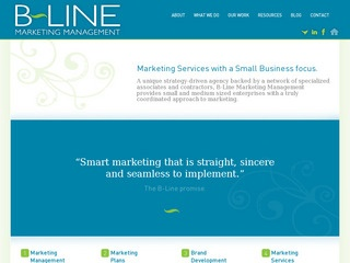 B-Line Marketing Management :: Whistler Services :: Business & Professional