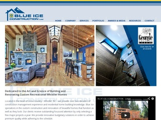 Blue Ice Construction Ltd. :: Whistler Services :: Construction & Trades