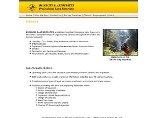 Bunbury & Associates :: Whistler Services :: Construction & Trades