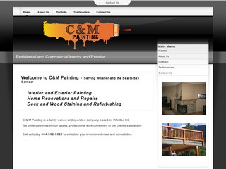 C & M Painting :: Whistler Services :: Construction & Trades