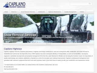Capilano Highway Services Company :: Whistler Services :: Construction & Trades