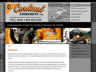 Cardinal Concrete Ltd. :: Whistler Services :: Construction & Trades