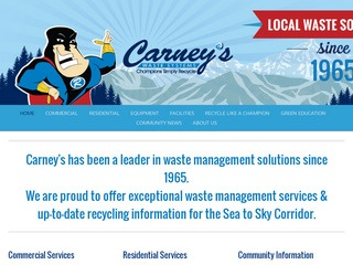 Carney's Waste Systems :: Whistler Services :: Construction & Trades