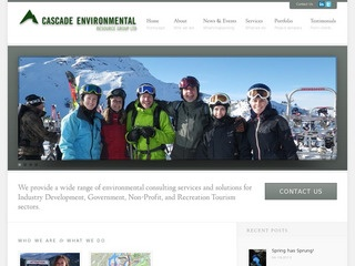 Cascade Environmental Resource Group :: Whistler Services :: Business & Professional