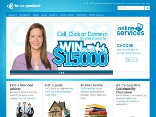 Co-operators General Insurance Company :: Whistler Services :: Finance & Insurance