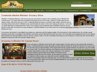 Creekside Market Inc. :: Whistler :: Shopping