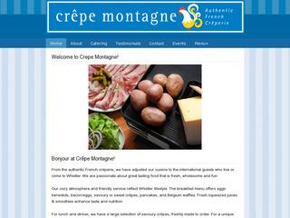 Crêpe Montagne  :: Whistler Village North :: Casual Dining
