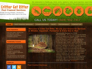 Critter Get Ritter Pest Control Ltd :: Whistler Services :: Property & Commercial