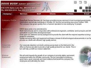 Doug Bush Survey Services Ltd. :: Whistler Services :: Construction & Trades
