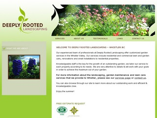Deeply Rooted Landscaping :: Whistler Services :: Property & Commercial