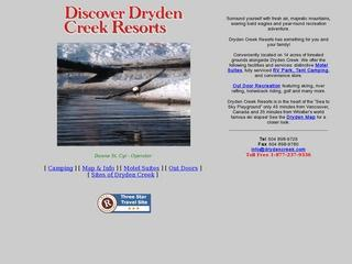 Dryden Creek Resorts Ltd :: Whistler Camping :: Campgrounds