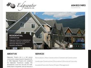 Edgewater Projects Ltd. :: Whistler Services :: Construction & Trades