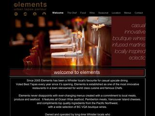 Elements :: Whistler Village North :: Casual Dining