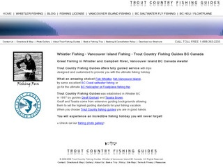 Trout Country Fishing Guides Inc :: Whistler Tours :: Activities in Whistler