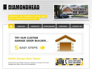 Diamondhead Door Company Ltd :: Whistler Services :: Business & Professional