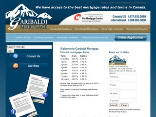 Garibaldi Mortgage Inc :: Whistler Services :: Finance & Insurance