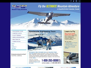 Glacier Air Tours :: Whistler Tours :: Activities in Whistler