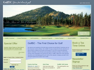 Furry Creek Golf & Country Club :: Whistler :: Golf Courses