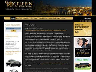 Griffin Transportation Services :: Whistler :: Chauffeur Service