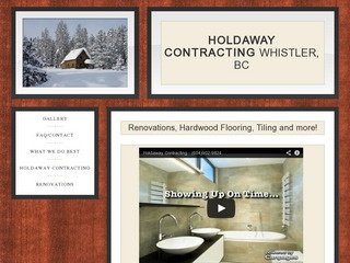 Holdaway Contracting Ltd. :: Whistler Services :: Construction & Trades