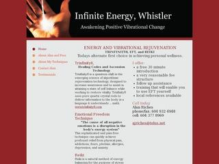 Infinite Energy, Whistler :: Whistler Healthcare :: Massage & Medicine
