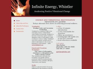 Infinite Energy, Whistler :: Whistler Healthcare :: Massage & Medicine