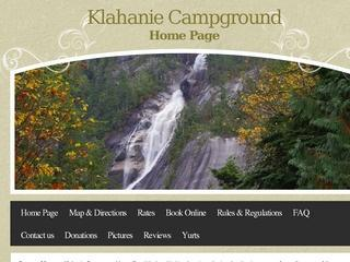Klahanie Campground :: Whistler Camping :: Campgrounds