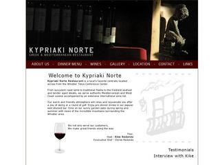 Kypriaki Norte :: Whistler Village :: Casual Dining