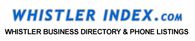 Whistler Directory