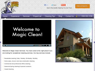 Magic Clean- Carola's Magic Clean Ltd. :: Whistler Services :: Property & Commercial