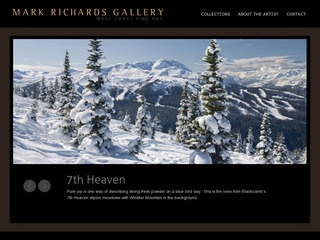 Mark Richards Gallery :: Whistler :: Shopping