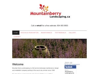 Mountain Berry Landscaping :: Whistler Services :: Property & Commercial