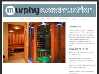 Murphy Construction Corp. :: Whistler Services :: Construction & Trades