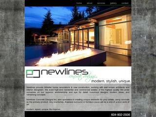 Newlines Concrete Designs Inc. :: Whistler Services :: Construction & Trades