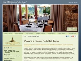 Nicklaus North Golf Course :: Whistler :: Golf Courses