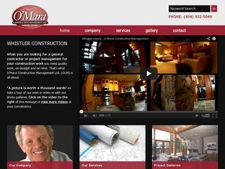 O'Mara Construction Management Ltd. :: Whistler Services :: Construction & Trades