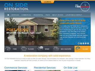 On Side Restoration Services Ltd. :: Whistler Services :: Property & Commercial