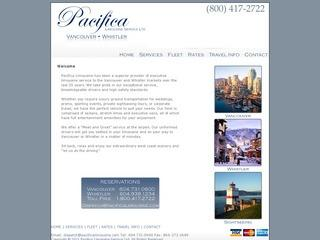 A-Pacifica Limousine Service Inc :: Whistler Transportation :: Getting to Whistler