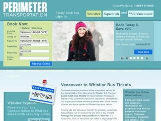 Perimeter Transportation :: Whistler :: Shuttle Service