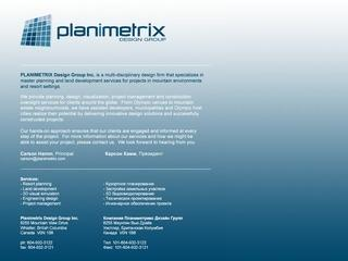 Planimetrix :: Whistler Services :: Business & Professional